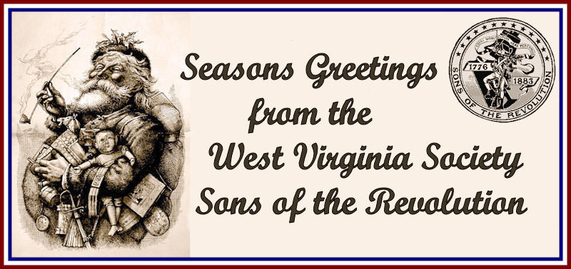 West Virginia Society Sons of the Revolution Seasons Greetings