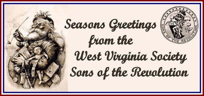 West Virginia Society Sons of the Revolution Seasons Greetings