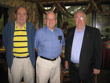 l-r: Larrie Bailey, Gene McIntire and Jim Rahr