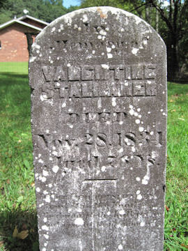 headstone of Valentine Stalnaker, Rev War Patriotic Service