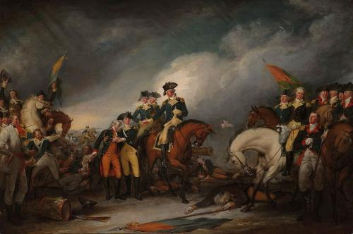 Hessians surrender Trenton